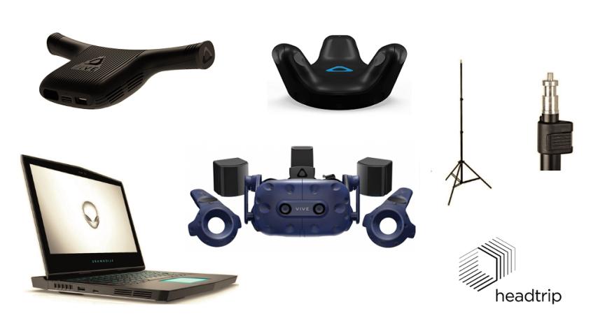 Kompletne stanowisko VR