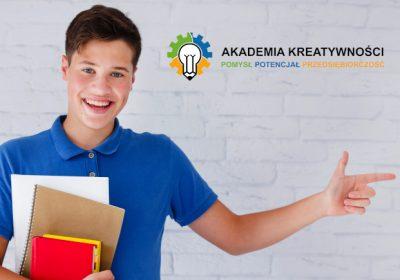 """OGŁOSZENIE O REKRUTACJI  W RAMACH PROJEKTU   """"Akademia Kreatywności – Pomysł, Potencjał Przedsiębiorca"""""""