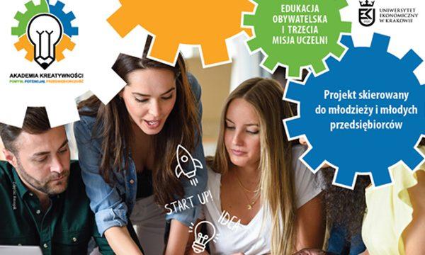 """Inauguracja projektu """"Akademia kreatywności – pomysł, potencjał, przedsiębiorca"""""""